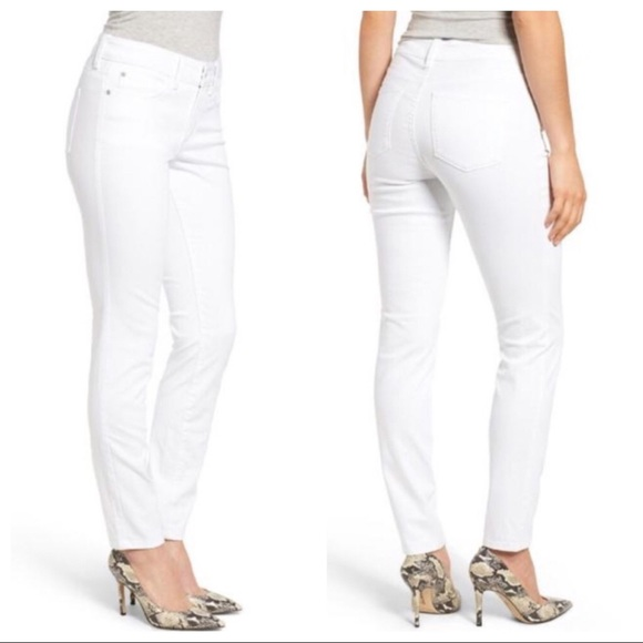 NWT Not Your Daughter/'s Jeans NYDJ Marilyn Straight in Mineral Gray Luxury 14